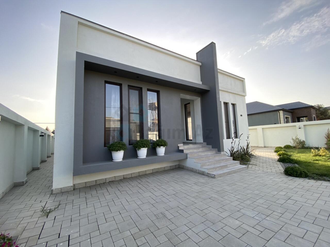 Mərdəkanda 6 sotda yeni modern bağ evi 158.800$