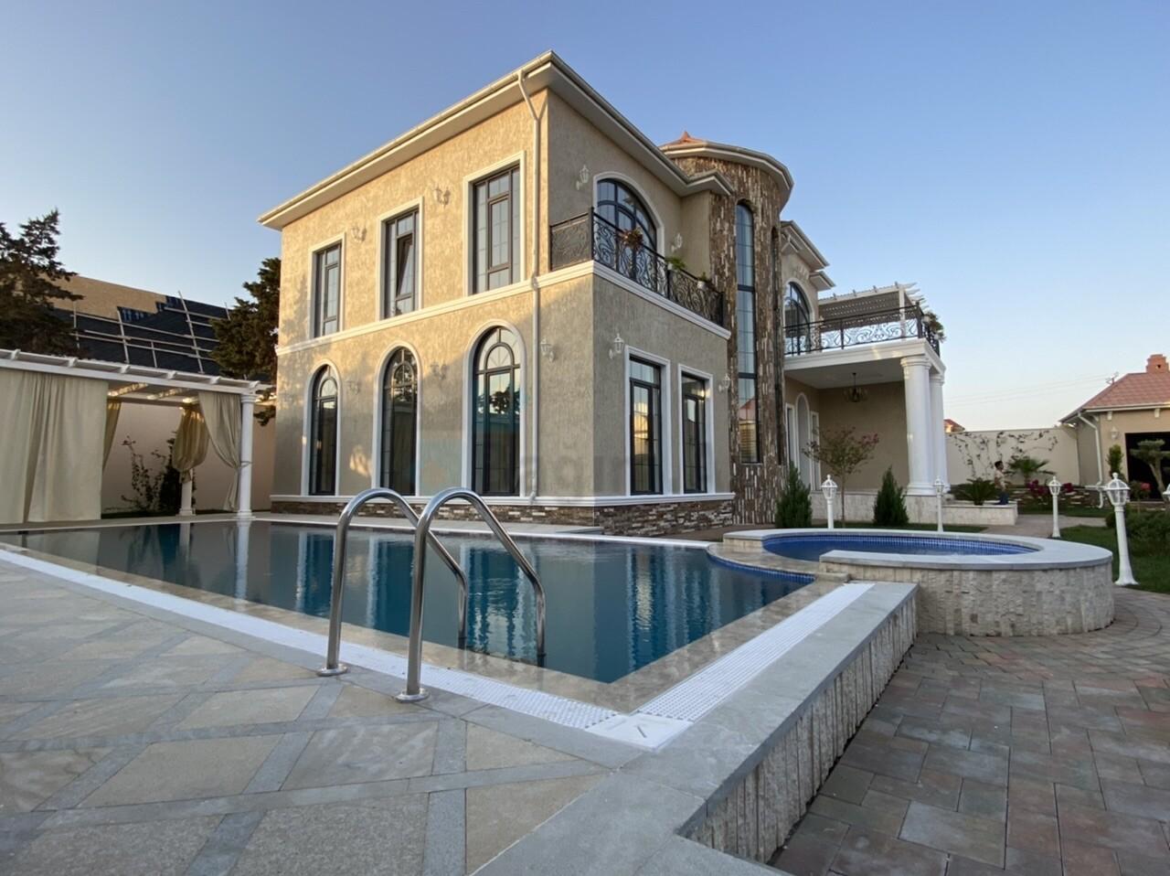 Mərdəkanda 12 sotda möhtəşəm villa 500.000$
